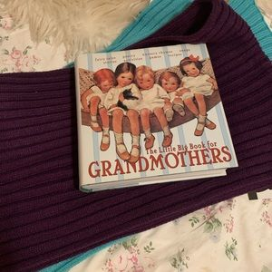 Two new scarves and hard cover Grandmother's book